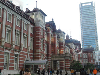 Tokyo Station and Tokyo Building by rlkitterman