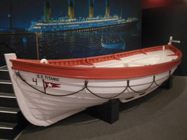 S.S. Titanic Lifeboat No. 4 at Mariners Museum by rlkitterman