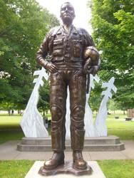 Red River Valley Fighter Pilots Vietnam Memorial by rlkitterman