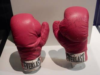 Muhammad Ali's Boxing Gloves by rlkitterman