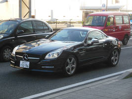 Mercedes-Benz SLK55 AMG on Kokudo-1 in Shizuoka by rlkitterman
