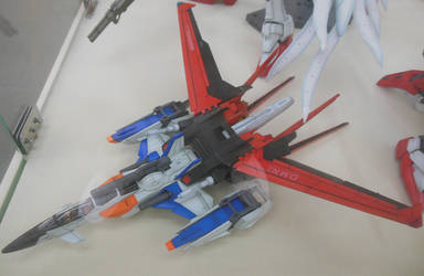 Gundam SEED FX-550 Skygrasper at Shiz Hobby Sq by rlkitterman