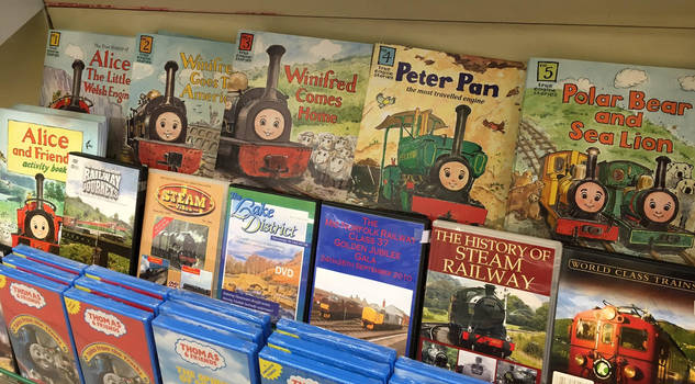 True Engine Stories at Pages Park Gift Shop by rlkitterman