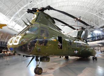 HMM-774 CH-46 Phrog at Udvar-Hazy Center by rlkitterman
