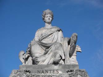 Nantes Statue at Place de la Concorde by rlkitterman