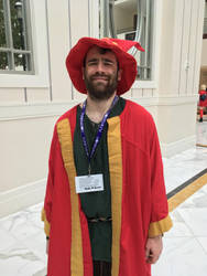 Rincewind the Wizzard at Katsucon 2018 by rlkitterman