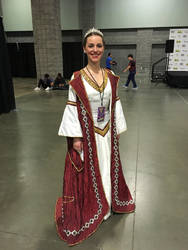 Medieval Times Queen at Awesome Con 2018 by rlkitterman