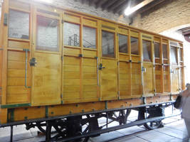Stockton and Darlington Forcett Carriage 179 by rlkitterman
