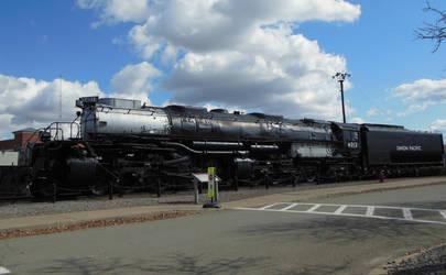 Union Pacific Big Boy 4012 at Scranton Steamtown by rlkitterman