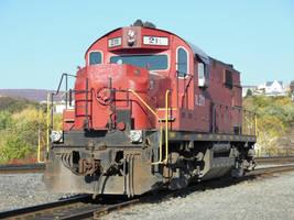 Delaware-Lackawanna ALCO RS32 No.211 at Steamtown by rlkitterman