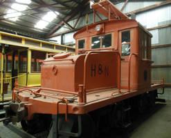 Hutchinson and Northern Railway GE Steeplecab No.1 by rlkitterman