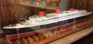 Model SS Normandie at Bahrs Landing by rlkitterman