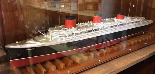 Model SS Normandie at Bahrs Landing by rlkitterman