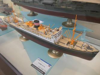Hasegawa 1/350 NYK Line Hikawa Maru at SHSq by rlkitterman