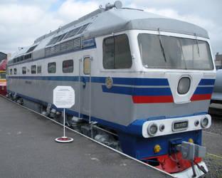 Belarus Railway Kolomna TEP70-007 by rlkitterman