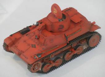 Tatenashi Centipedes IJA Type 97 Te-Ke Tankette by rlkitterman