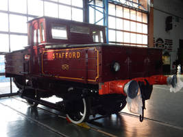 North Staffordshire Electric No.1 in Great Hall by rlkitterman