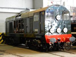 BR EE Type 1 D8000 at National Railway Museum by rlkitterman