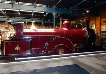 Midland Railway Spinner 673 in the Station Hall by rlkitterman