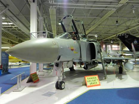 RAF Phantom FGR.2 XV424 at RAF Hendon by rlkitterman