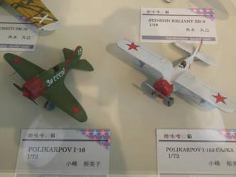 Polikarpov I-16 Za SSSR and I-153 Chaika by rlkitterman