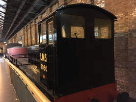 LMS 7050's Goods Train in NRM Station Hall by rlkitterman