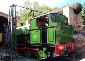 Sugar Peckett 2000 at Beamish Rowley Station by rlkitterman