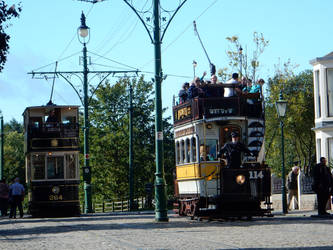 Sheffield 264 Meets Newcastle 114 at Beamish Town by rlkitterman