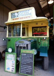 Southdown Bus UF6805 for Eastbourne by rlkitterman