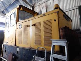 RNAD Baguley-Drewry 3751 in Amberley Workshop 1 by rlkitterman