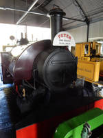 Peter the Bagnall in Amberley Engine Shed 1 by rlkitterman