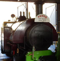Peter the Bagnall in Amberley Engine Shed 2 by rlkitterman
