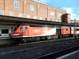 LNER 43309 Pulls HST out of York by rlkitterman