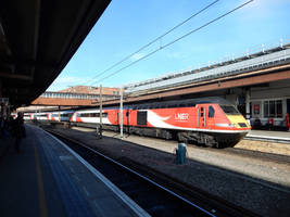 LNER 43313 Pushes HST out of York by rlkitterman