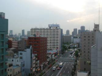 Eastern Tokyo Cityscape 2 by rlkitterman
