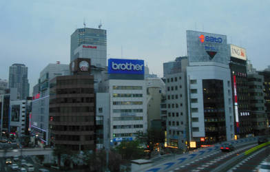 Eastern Tokyo Cityscape 3 by rlkitterman