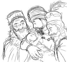 The Magi - Rough Sketch by SoulSprite