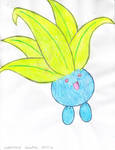 Oddish (colored) by Suemoons