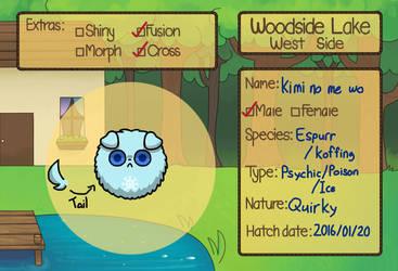 Woodside Lake -West side- Kimi no me wo by PrincePokePole