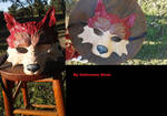 Wolf Mask repainted by readlliea