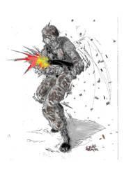 Soldier by Stachir