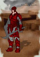 wojownik legionu Czatara by Stachir