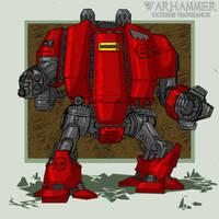 warhammer 002- Drednot by Stachir