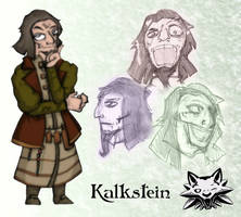 The Legend of Witcher: Kalk by Stachir