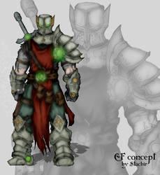 random warrior by Stachir