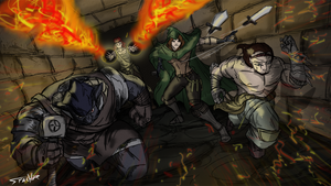 Legend of GrimRock by Stachir