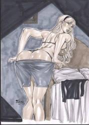 Gwen Stacy by Fredbenes