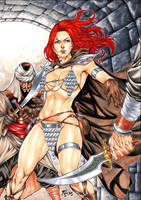 Red Sonja by Fredbenes