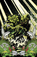Swamp Thing 1 cover by YanickPaquette
