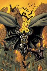 Batman Inc Cover Final by YanickPaquette